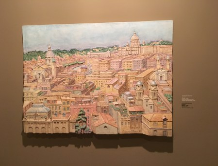 Rome, by Raymond Mason (England), 1989 at Museo de Antioquia, Medellín, Colombia