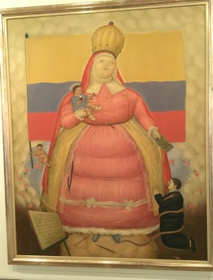 A political work by Botero at Museo de Antioquia, Medellín, Colombia