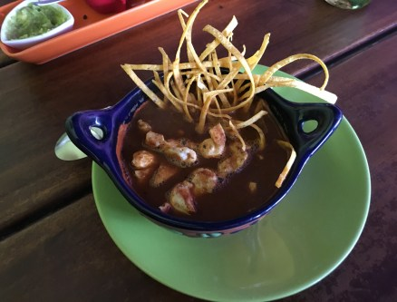 Sopa Azteca at María la Mexicana in Pereira, Risaralda, Colombia
