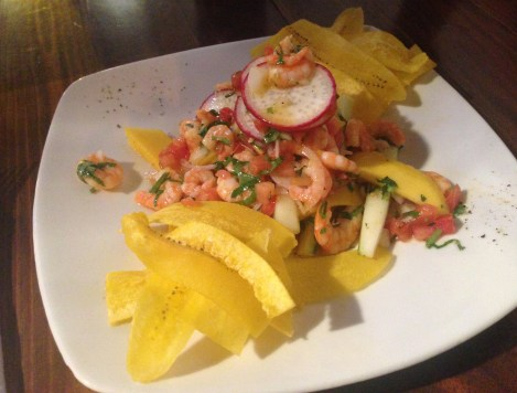 Ceviche at Lulo in Santa Marta, Magdalena, Colombia
