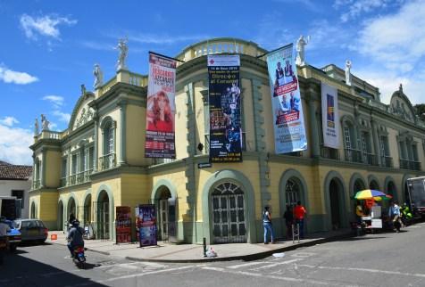 Teatro Municipal Guillermo Valencia in Popayán, Cauca, Colombia