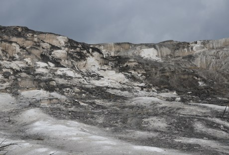 Jupiter Terrace at Mammoth Hot Springs in Yellowstone National Park, Wyoming