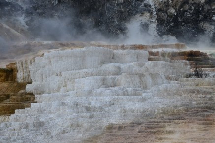 Cleopatra Terrace at Mammoth Hot Springs in Yellowstone National Park, Wyoming