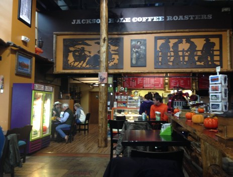 Jackson Hole Roasters in Jackson, Wyoming