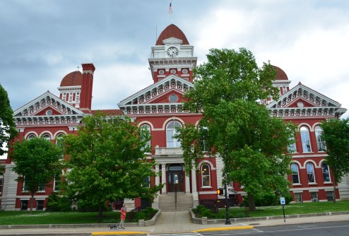 Lake County Courthouse in Crown Point, Indiana