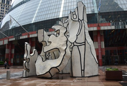 Monument with Standing Beast by Jean Dubuffet in Chicago, Illinois