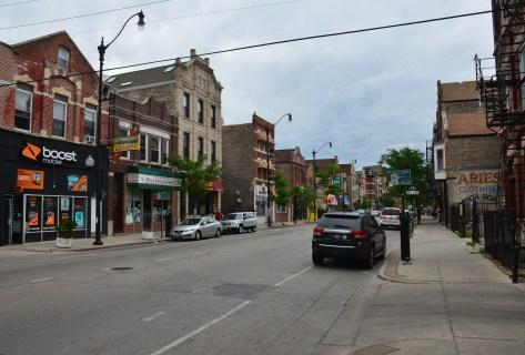 18th Street in Pilsen, Chicago, Illinois
