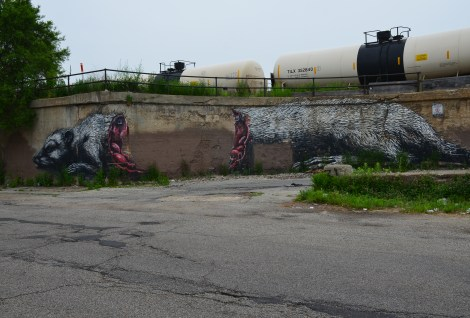 Between Laflin and Ashland in Pilsen, Chicago, Illinois