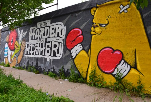 Between Ashland and Paulina in Pilsen, Chicago, Illinois