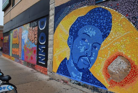 18th and Paulina in Pilsen, Chicago, Illinois