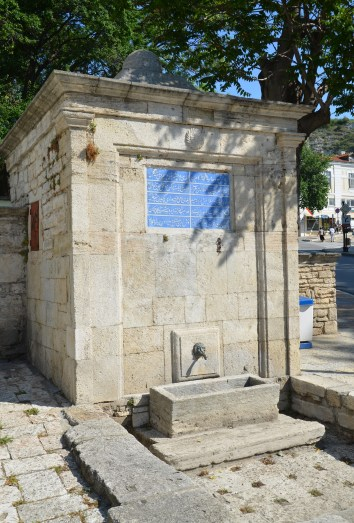 Ottoman fountain in Balchik, Bulgaria