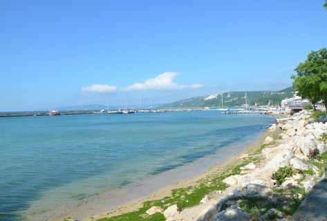 Black Sea in Balchik, Bulgaria