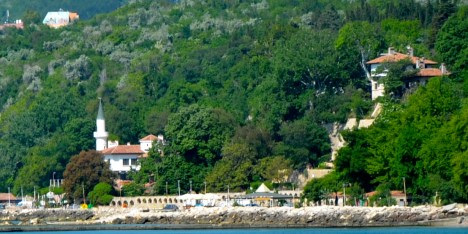 Queen Marie's palace in Balchik, Bulgaria