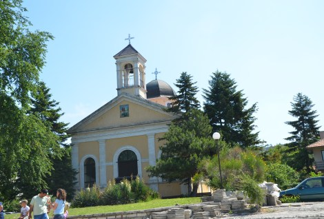 Sveti Georgi Church in Balchik, Bulgaria