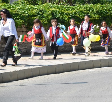 Parade in Balchik, Bulgaria
