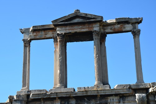 Hadrian's Arch in Athens, Greece