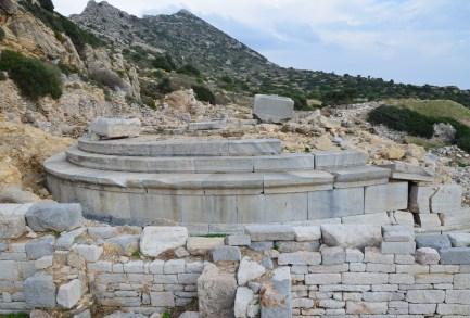 Tholos at Knidos on Datça Peninsula, Turkey