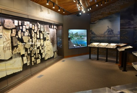 Visitor center at Fossil Butte National Monument, Wyoming