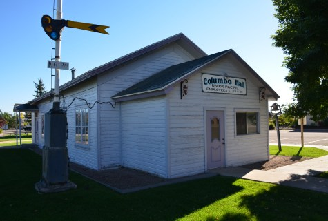 Columbo Hall in Evanston, Wyoming