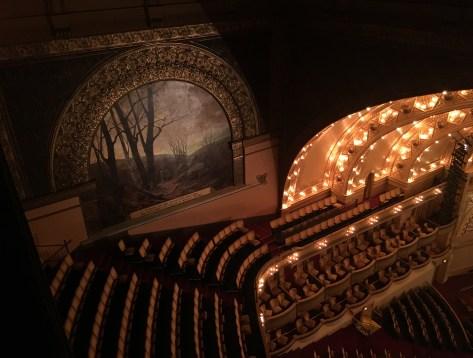 Autumn mural in the Auditorium Theatre in Chicago, Illinois