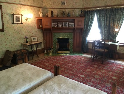 Guest room at the John J. Glessner House in Chicago, Illinois