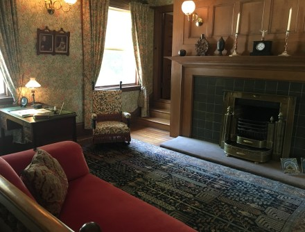 Master bedroom at the John J. Glessner House in Chicago, Illinois
