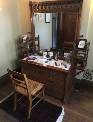 Mrs. Glessner's dressing room at the John J. Glessner House in Chicago, Illinois
