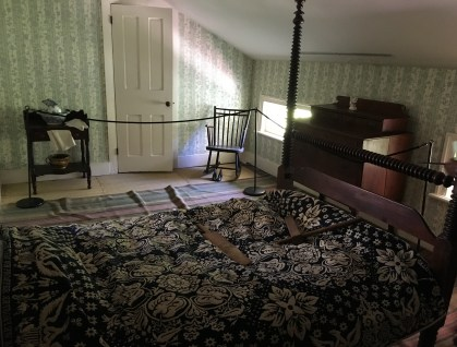 Children's bedroom at the Henry B. Clarke House in Chicago, Illinois