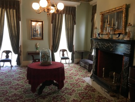 Parlor at the Henry B. Clarke House in Chicago, Illinois