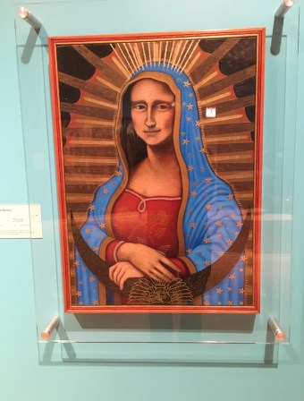 Mona Lupe by César Augusto Martínez at National Museum of Mexican Art in Pilsen, Chicago, Illinois