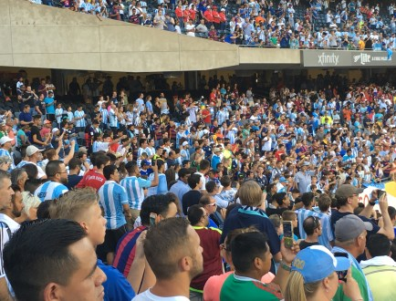 Copa América 100: Argentina vs Panamá at Soldier Field in Chicago, Illinois