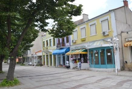 bulevard Dobrotitsa in Kavarna, Bulgaria