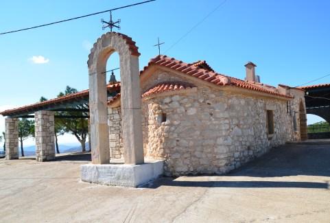 Profiti Ilias in Tholopotami, Chios, Greece