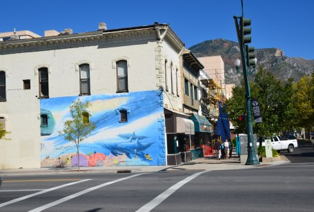 Mural in Provo, Utah