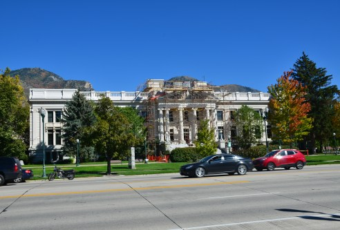 Utah County Courthouse in Provo, Utah
