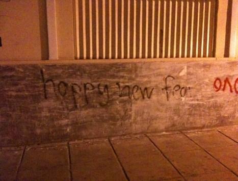 Graffiti in Thessaloniki, Greece