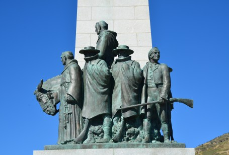 Domínguez-Escalante Expedition on the This Is the Place Monument in Salt Lake City, Utah