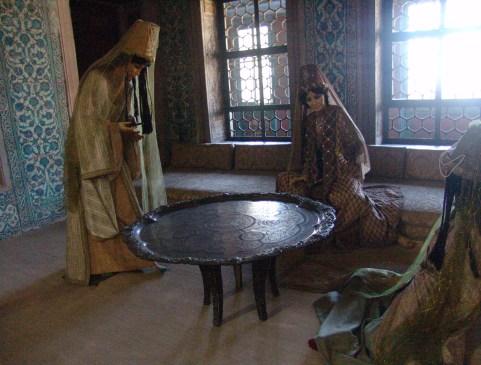Valide Sultan Dairesi in the Harem-i Hümayûn at Topkapı Sarayı in Istanbul, Turkey