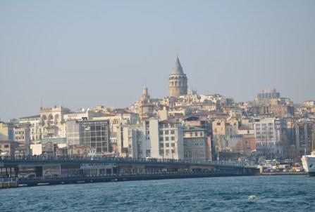 Galata Kulesi in Istanbul, Turkey