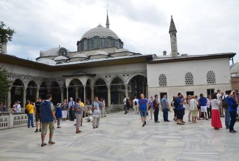 Sofa-ı Hümâyûn at Topkapı Sarayı in Istanbul, Turkey