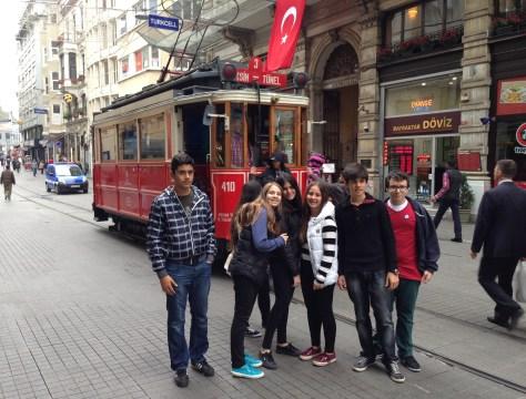 İstiklal Caddesi in Istanbul, Turkey