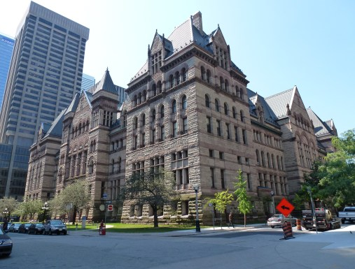 Old City Hall in Toronto, Ontario, Canada