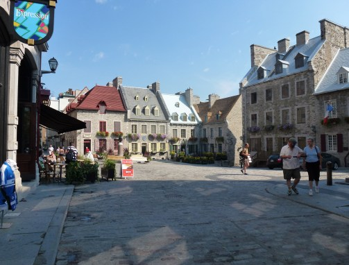 Place Royale in Québec, Canada