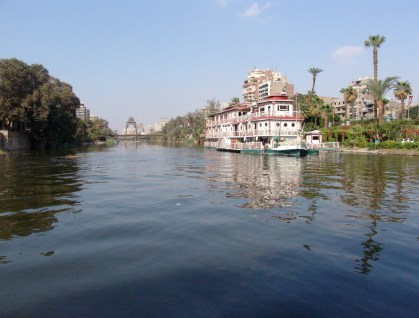 Nile River in Cairo, Egypt