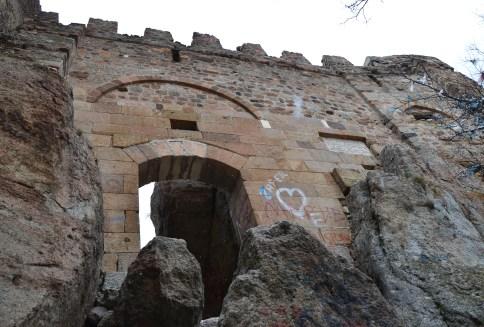 Afyon Kalesi in Afyon, Turkey