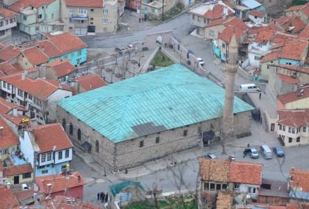 Ulu Cami from Afyon Kalesi in Afyon, Turkey