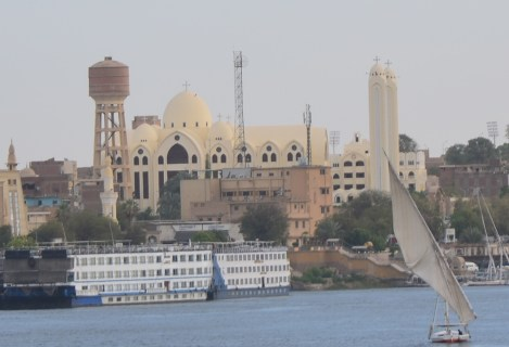 Archangel Michael's Coptic Orthodox Cathedral in Aswan, Egypt