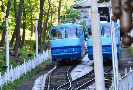 Kiev Funicular in Kiev, Ukraine
