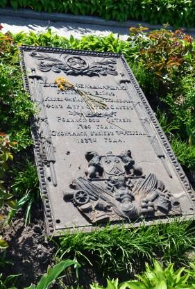 Cemetery at Kiev Pechersk Lavra in Kiev, Ukraine