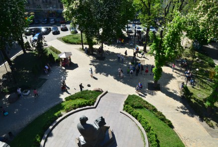 View of Golden Gate Square in Kiev, Ukraine